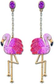 TOCO_FLAMINGO_Pierced_Earrings