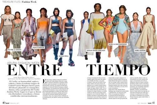 Velvet 2017 - Primavera (NMZ y Bora La Mar Swimwear en AFW)