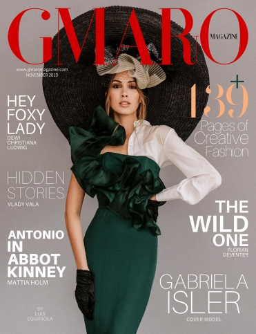 Gabriela Isler - GMARO Magazine Nov 2019
